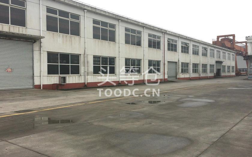 嘉定外冈单层厂房出租 可分割 层高10米 有产证 配套办公室
