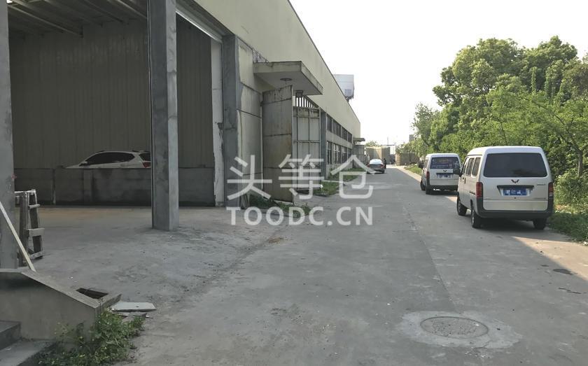 青浦华新底楼厂房出租 可分割 层高7.5米 有产证 配套办公室 可托管 适合仓储加工等